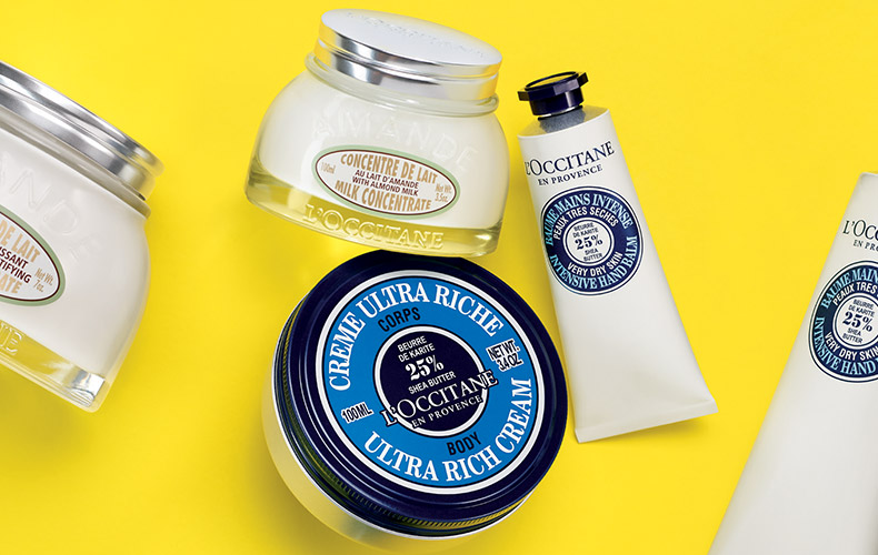 discovery sizes - L'OCCITANE