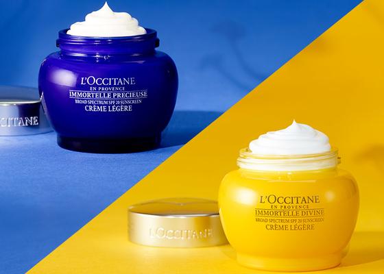 spf creams - L'OCCITANE